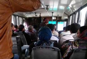 استفاده از ظرفیت نشسته اتوبوسها مجاز است