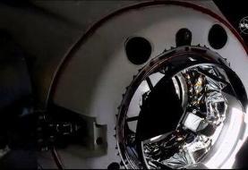 اتصال فضاپیمای کرو دراگون به ایستگاه فضایی بینالملل