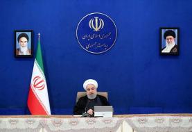 روحانی: علیرغم سختیهای فراوان ناشی از تحریمها مردم باید دلگرم باشند