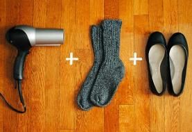 بهترین روش برای گشاد کردن کفش