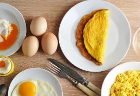 بهترین و سالم ترین روش های پختن تخم مرغ