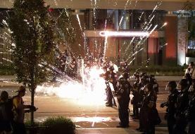Protesters tear through D.C. after National Guard troops and Secret Service keep them from the ...