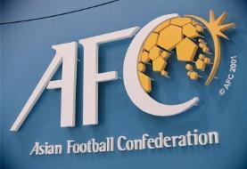 عکس دختر بندری در سایت کنفدراسیون فوتبال آسیا با یک پیام ویژه