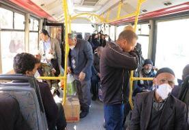 عرضه ماسک در ۶۰ پایانه و ایستگاه اتوبوس تهران/ ممانعت جدی از ورود ...