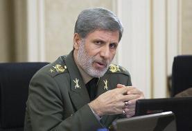 وزیر دفاع اهداء نشان فداکاری به دانشگاه امام علی را تبریک گفت