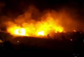 آتشسوزی در چیتگر