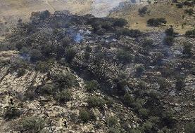 آتشسوزی دوبارهدر مراتع اسفراین