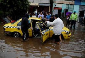 (تصاویر) طوفان مرگبار آماندا در السالوادور