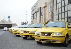 تاکسیهای موجود در نمایندگیها دارای مالکیت مشخص است