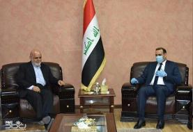 دیدار مسجدی با وزیر برنامه ریزی عراق