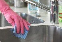 سینک ظرفشویی را ضدعفونی کنید