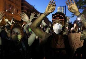 اعتراضات آمریکا؛ کالبدشکافی خصوصی خفگی را علت مرگ جورج فلوید دانست