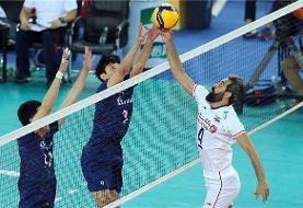 مسابقه ایران و کره در گروه دیدارهای جذاب فدراسیون جهانی والیبال