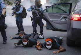 عکس روز| بازداشت در مینیاپولیس