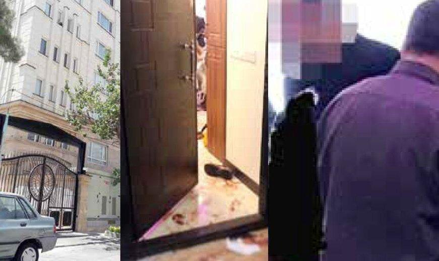 برج  سازی شادی نیاورد! صحنه هولناک قتل مرد برجساز همراه همسر و فرزند خردسالش از چشمیِ در آپارتمان برج موروثی!