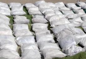 کشف چهار تن محموله مواد مخدر در سیستان و بلوچستان