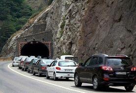 جاده هراز امشب مسدود میشود | افزایش تردد وسایل نقلیه در جادههای کشور