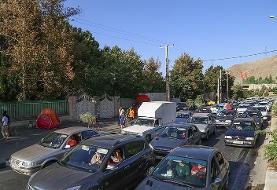 وضعیت جادهها و راه ها، امروز ۱۴ خرداد ۹۹ / ترافیک جاده چالوس و هراز سنگین است