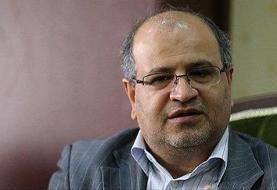 زالی: بستری ۳۳۴ مبتلا به کرونا در بیمارستانهای تهران در ۲۴ ساعت گذشته