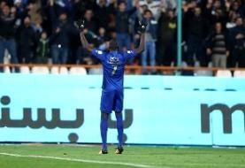 شیخ دیاباته علیه رفتار بازیکنان ایرانی استقلال