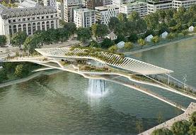 پل بابل؛ جاذبه گردشگری جدید پاریس! (+تصاویر)