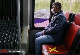 ورود مسافران به اتوبوس بدون ماسک ممنوع شد