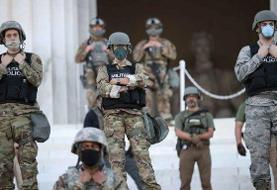 پنتاگون از اعزام ۱۶۰۰ نیرو به واشنگتن خبر داد
