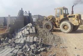 ۴۰ هزار مترمربع از اراضی رباطکریم آزاد شد | تخریب ساخت و سازهای غیرمجاز