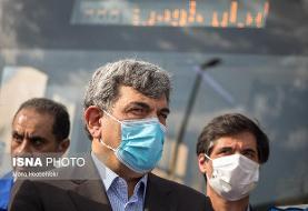رونمایی از ۴۰ دستگاه جمعآوری زبالههای بیمارستانی با حضور شهردار تهران