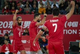 تیم ملی والیبال ایران همچنان در جایگاه هشتم جهان