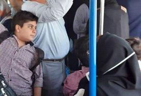 عکس | مسافران این اتوبوس کرونا نمیگیرند؟