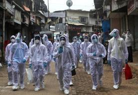 ثبت رکورد موارد ابتلا به کرونا در هند برای هشتمین روز
