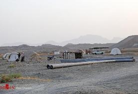 جولان گرما در کمپ سیل زدگان زاج و داربست/تصاویر