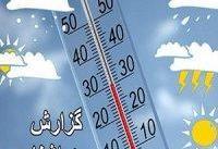 افزایش نسبی دما در سواحل دریای خزر
