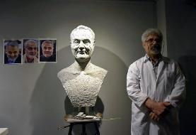 آیا این مجسمه ناپیدا متعلق به شهید سلیمانی است؟ | تصویر سردیس را ببینید