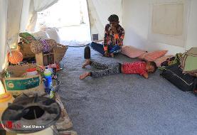 مرگ یک نوزاد ۹ روزه به علت گرما در هرمزگان/ اعلان قرمز برای ۳ روستای محروم+تصاویر