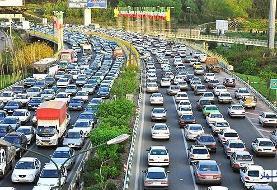 وضعیت جادهها و راه ها، امروز ۱۰ تیر ۹۹