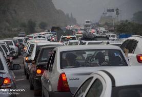 ترافیک سنگین در تمامی محورهای شمالی/ لغو محدودیت تردد در محور هراز