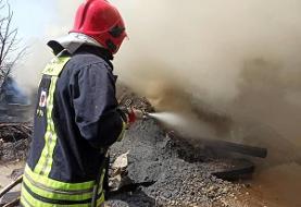 وقوع آتشسوزی در شرکت فولاد خوزستان / تلاش برای مهار آتش ادامه دارد