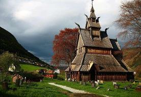 تصاویر | کلیساهایی که در دوران کرونا تمیز نمیشوند | میراث چوبی قرون وسطا