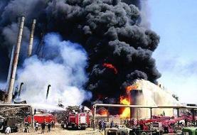 آتشسوزی در پالایشگاه تهران: یک کشته و یک مصدوم