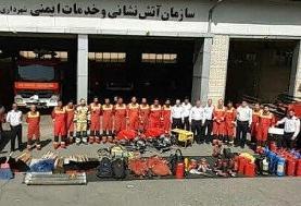 کمک شهرداری تهران برای مهار آتش سوزی جنگلهای کهگیلویه و بویراحمد