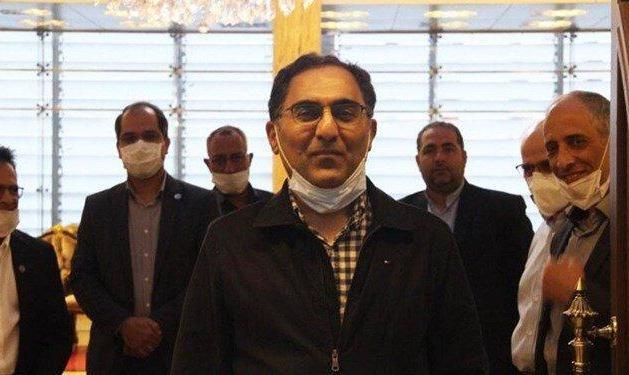 فیلم و تصاویر: سیروس عسگری به ایران بازگشت