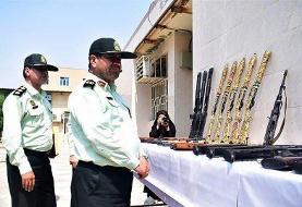 دستگیری ۹۱ نفر از عاملان تیراندازیهای غیرمجاز در خوزستان | کشف ۱۵۳ قبضه سلاح