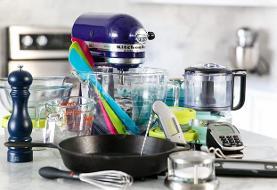 لیست کامل وسایل ضروری آشپزخانه در ۱۱ دستهبندی متفاوت