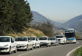 قرنطینه اجباری مردم مازندران در ترافیک سنگین مسافران