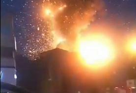 شنیده شدن صدای انفجار در غرب تهران؟ | ماجرای عکس انفجار