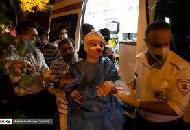 اورژانس تهران: آمار نهایی حادثه سینا اطهر پس از اتمام عملیات اعلام میشود
