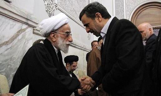 دیدار احمدی نژاد با جنتی برای ورود به انتخابات ریاست جمهوری سال ۱۴۰۰؟