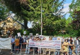 اعتراض وسیع ایرانیان آلمان و اروپا به احکام اعدام در ایران
